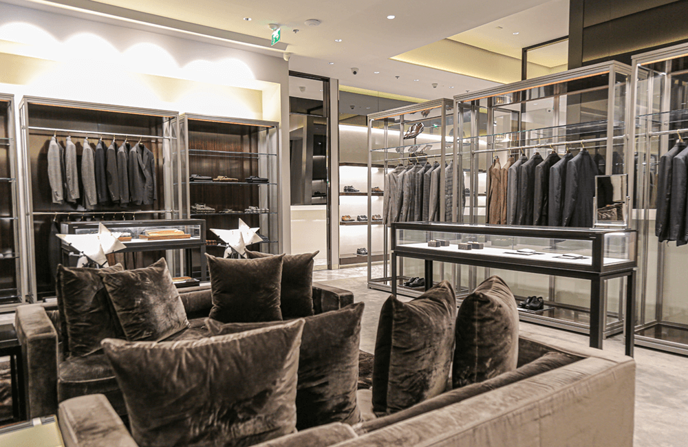 Tom Ford The Dubai Mall - Ashtaar Interior Design for luxury interior design