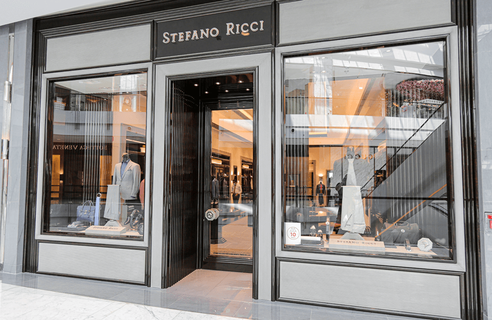 Architectural design for Stefano Ricci in The Dubai Mall - Ashtaar Interiors