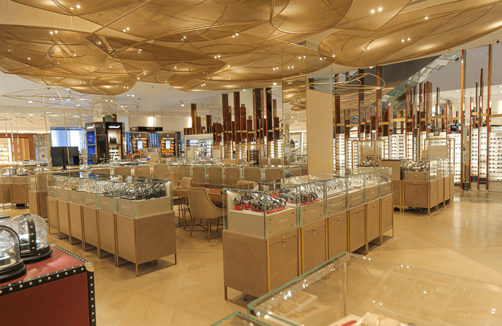 Galeries Lafayette in The Dubai Mall - Ashtaar Interior Design for luxury interior design