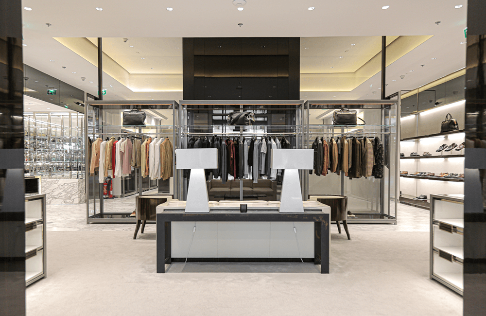 Interior design for Tom Ford in The Dubai Mall - Ashtaar Interiors