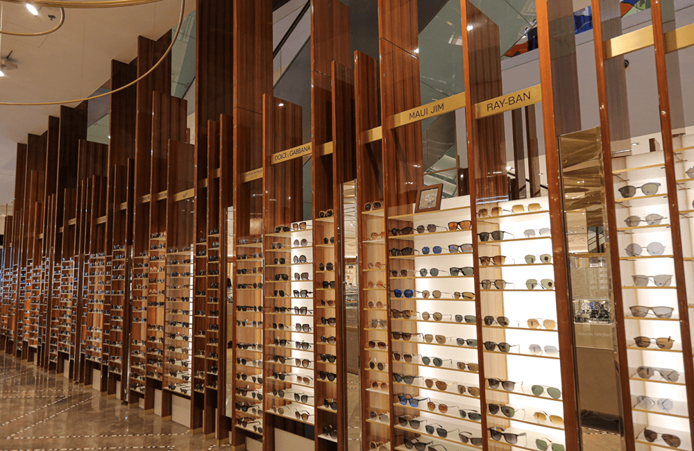 Interior design for Galeries Lafayette in The Dubai Mall - Ashtaar Interiors
