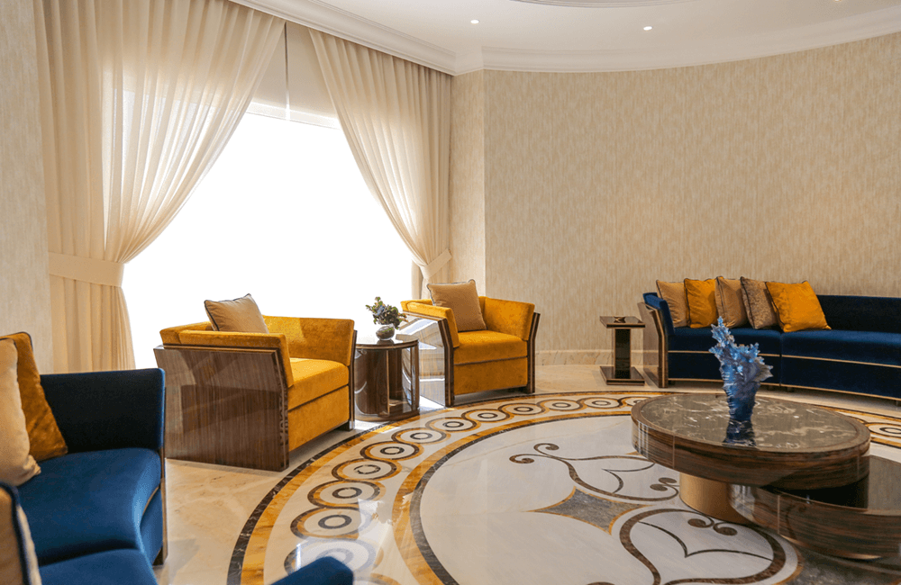 Interior design for Private Villa in Emirates Hills - Ashtaar Interiors