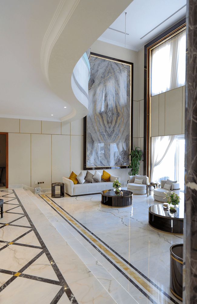 Architectural design for Private Villa in Emirates Hills - Ashtaar Interiors