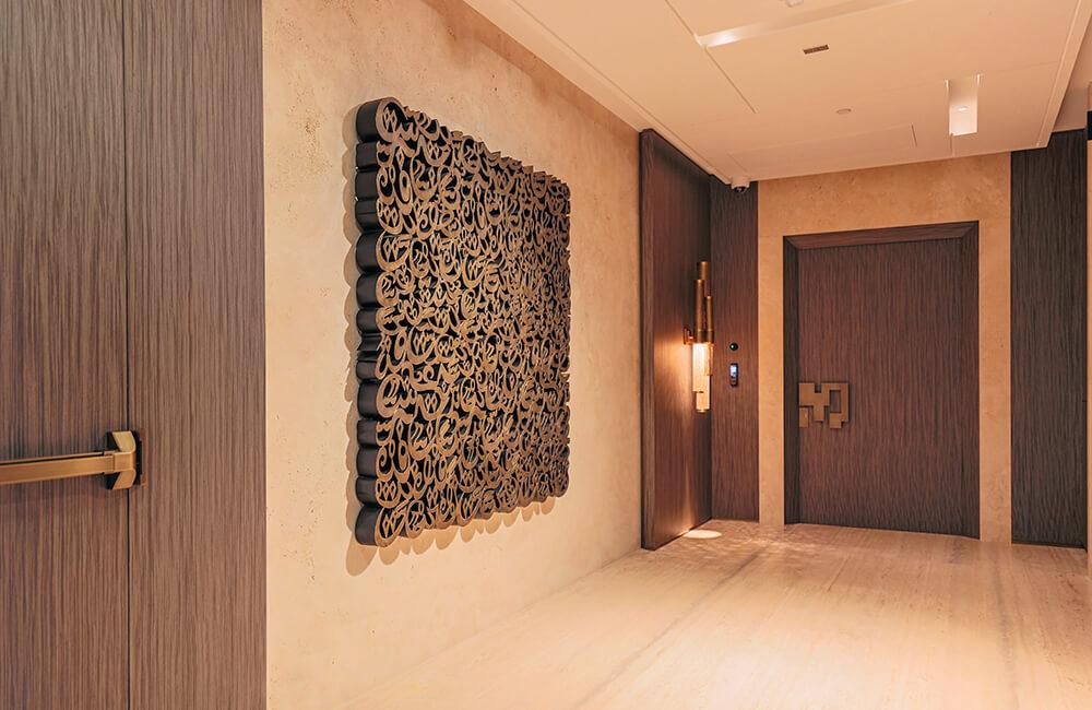 Interior Design for Private Apartment in Volante Tower Volante Doors - Ashtaar Interiors in Dubai
