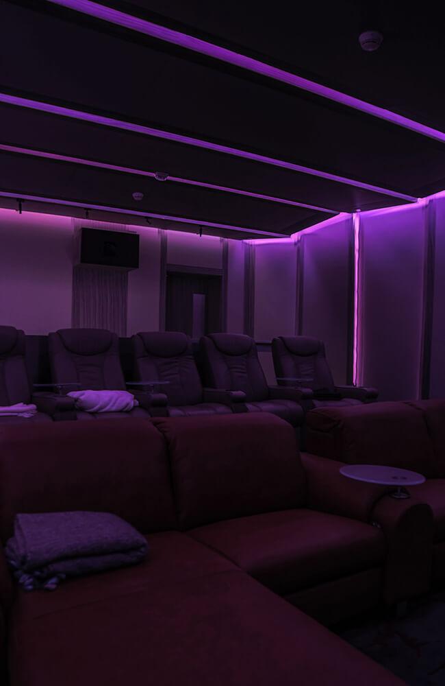 Interior Design for Private Apartment in Volante Tower Volante Theatre - Ashtaar Interiors in Dubai